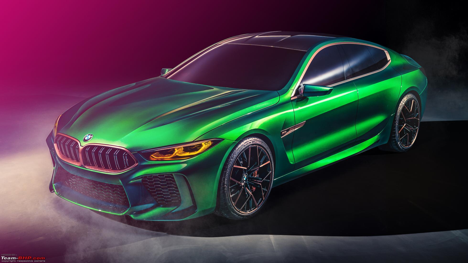 Bmw M8 2015 >> BMW M8 Gran Coupe concept unveiled at the Geneva Motor Show - Team-BHP