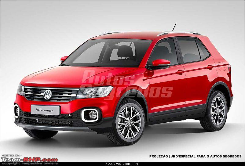 Volkswagen T Cross - A compact crossover based on the Polo. EDIT: Now unveiled-projecaovolkswagentcrossfrente.jpg