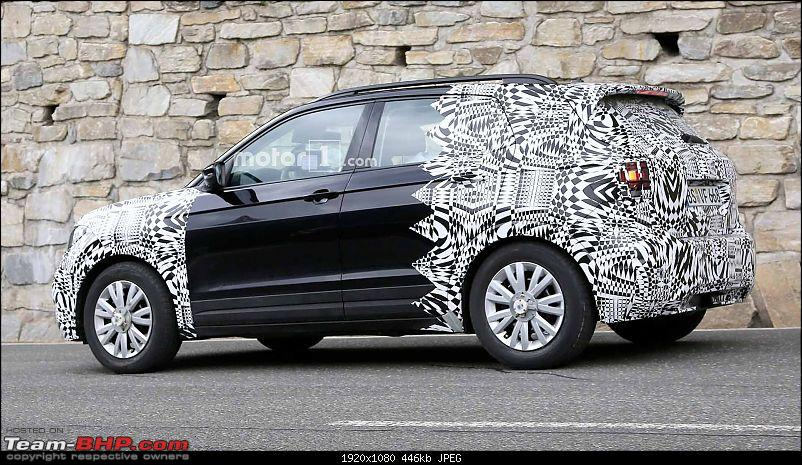Volkswagen T Cross - A compact crossover based on the Polo. EDIT: Now unveiled-volkswagent7crossspyshots.jpg