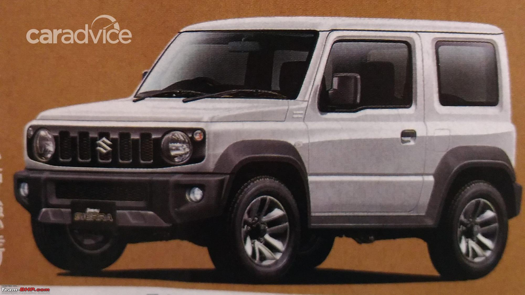 new suzuki jimny in 2018 page 13 team bhp. Black Bedroom Furniture Sets. Home Design Ideas