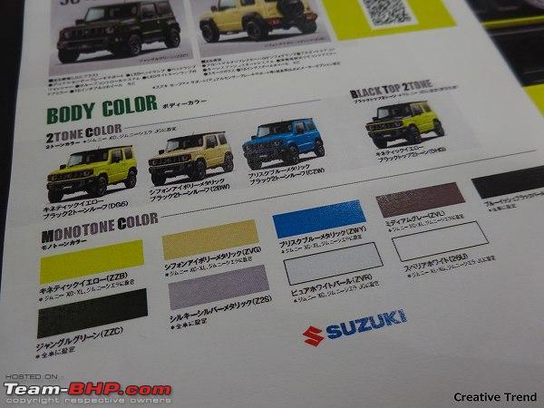 New Suzuki Jimny In 2018 Page 15 Team Bhp