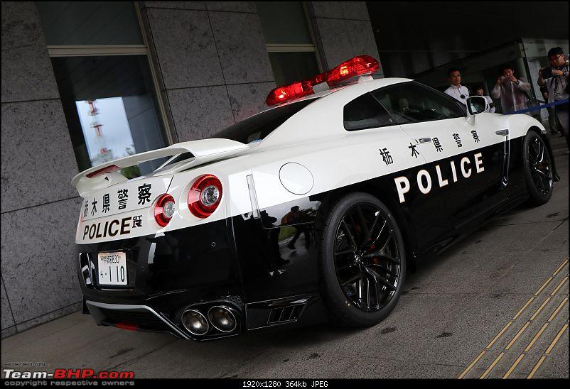 Ultimate Cop Cars - Police cars from around the world-nissangtrpolicecar.jpg