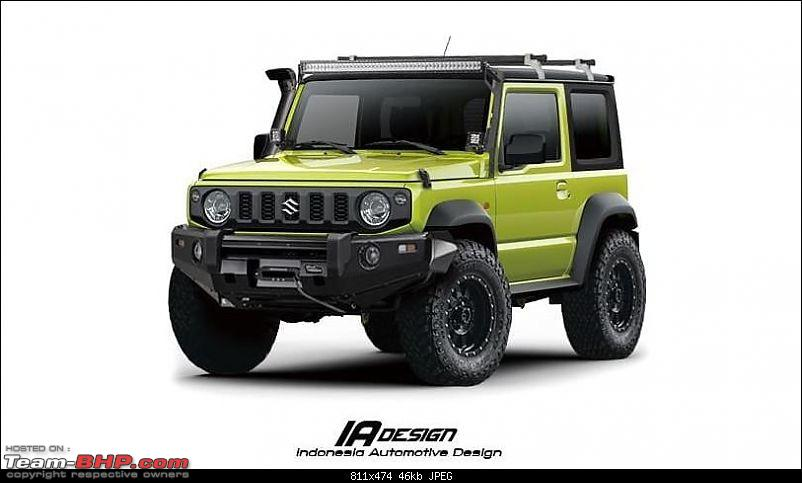 new suzuki jimny in 2018 page 17 team bhp. Black Bedroom Furniture Sets. Home Design Ideas