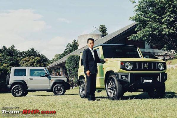 New Suzuki Jimny In 2018 Page 23 Team Bhp
