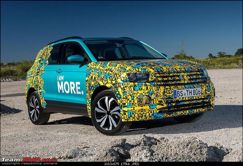 Volkswagen T Cross - A compact crossover based on the Polo. EDIT: Now unveiled-3vwtcross.jpg