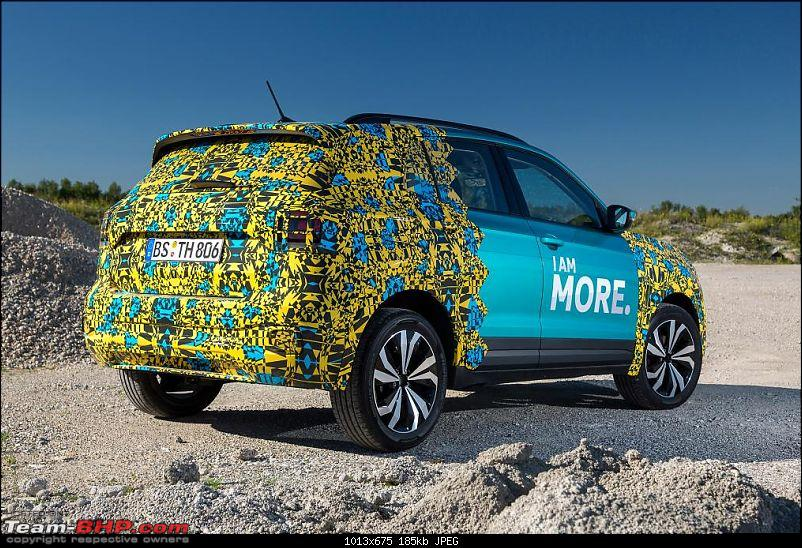 Volkswagen T Cross - A compact crossover based on the Polo. EDIT: Now unveiled-4vwtcross.jpg