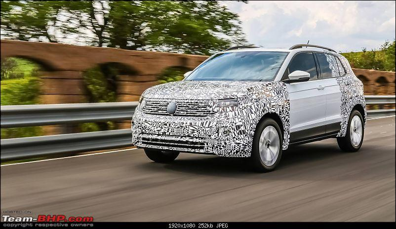 Volkswagen T Cross - A compact crossover based on the Polo. EDIT: Now unveiled-5.jpg