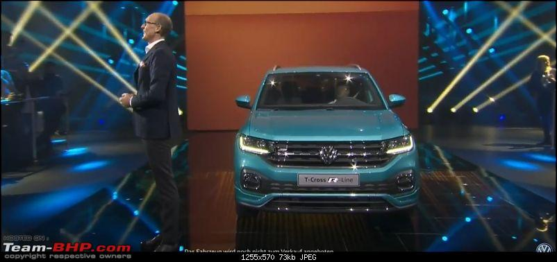 Volkswagen T Cross - A compact crossover based on the Polo. EDIT: Now unveiled-0.jpg