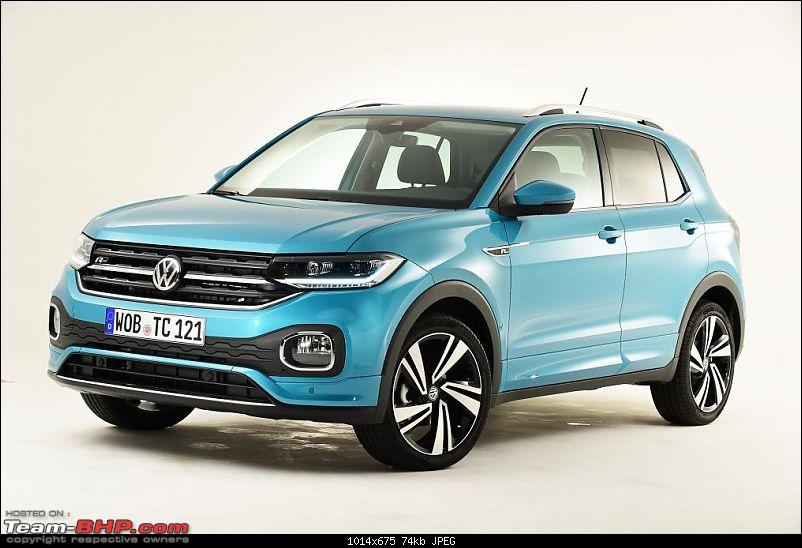 Volkswagen T Cross - A compact crossover based on the Polo. EDIT: Now unveiled-t5.jpg