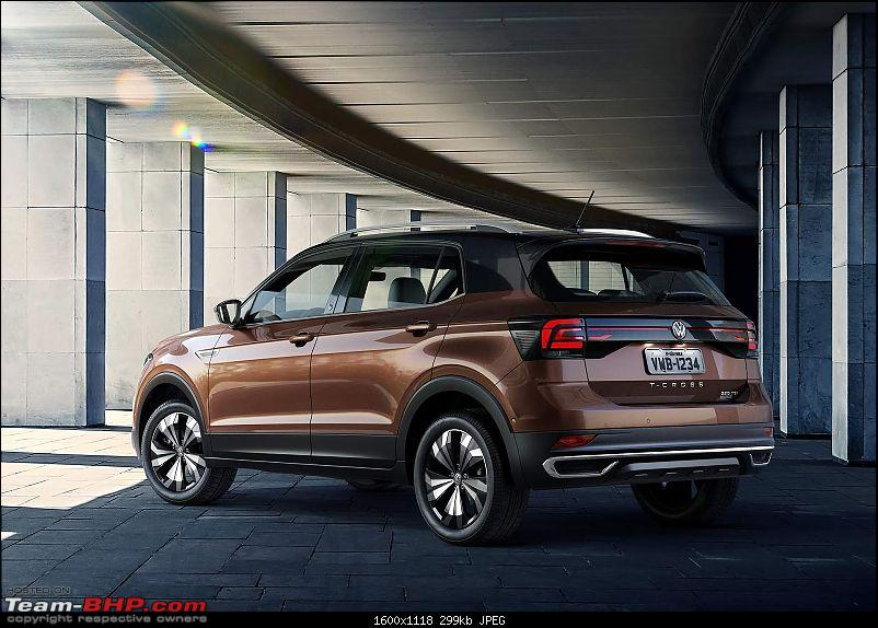 Volkswagen T Cross - A compact crossover based on the Polo. EDIT: Now unveiled-12.jpg