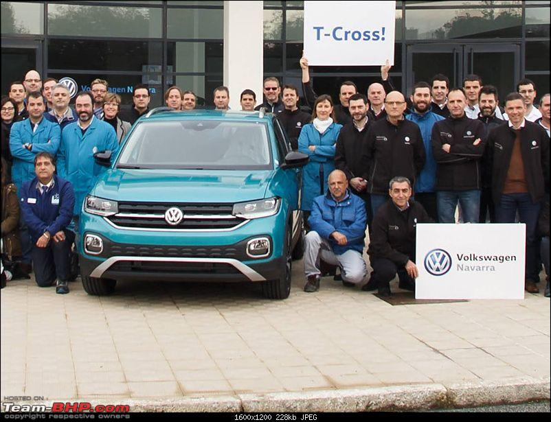 Volkswagen T Cross - A compact crossover based on the Polo. EDIT: Now unveiled-1.jpg