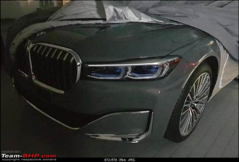 2019 Bmw 7 Series Facelift Team Bhp