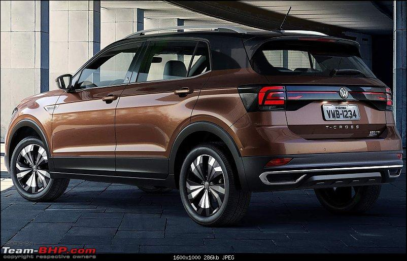 Volkswagen T Cross - A compact crossover based on the Polo. EDIT: Now unveiled-3.jpg