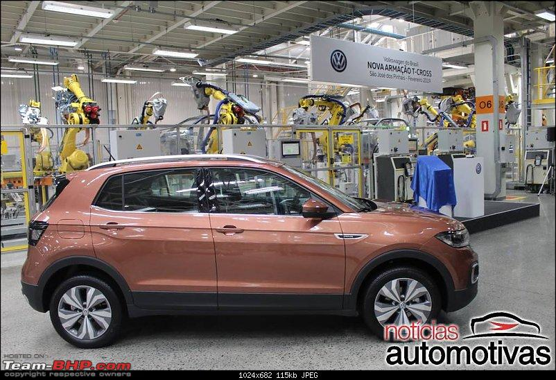 Volkswagen T Cross - A compact crossover based on the Polo. EDIT: Now unveiled-4.jpg