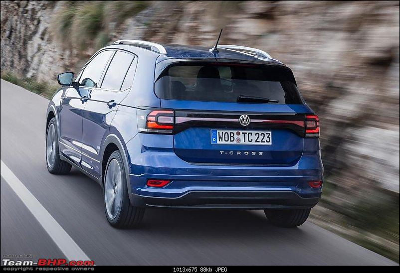Volkswagen T Cross - A compact crossover based on the Polo. EDIT: Now unveiled-tcross_reef_blue_016.jpg