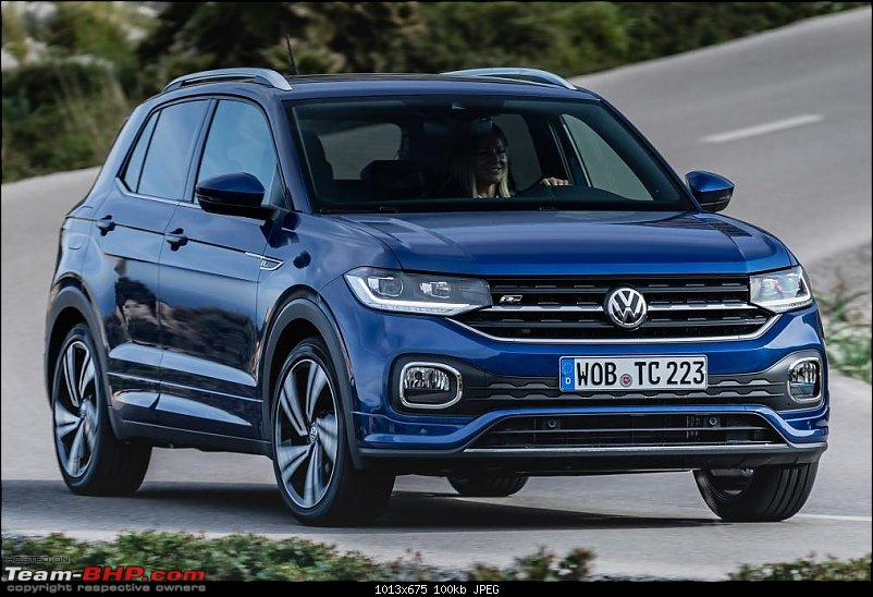 Volkswagen T Cross - A compact crossover based on the Polo. EDIT: Now unveiled-tcross_reef_blue_030.jpg