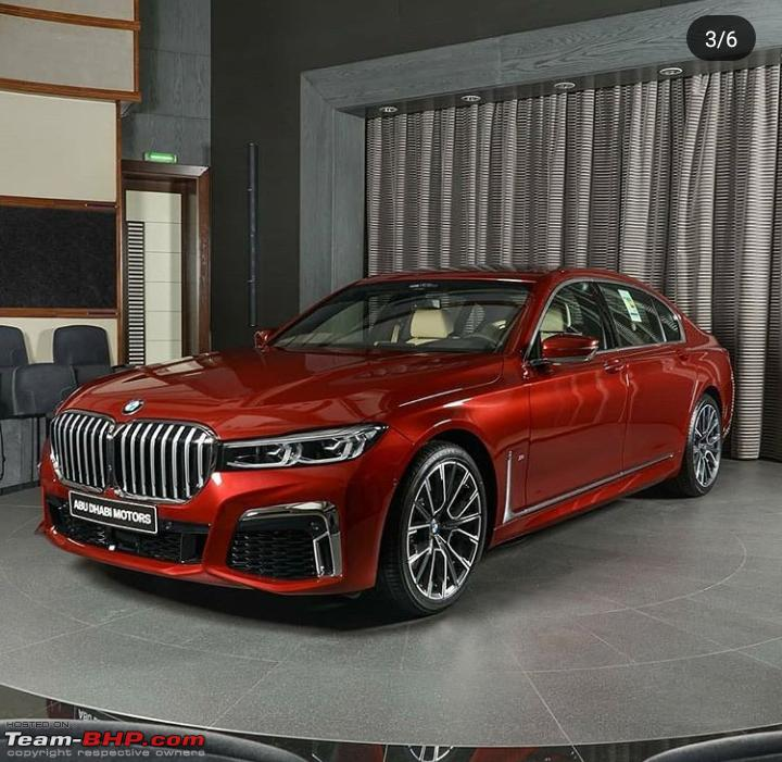 2019 BMW 7-Series Facelift