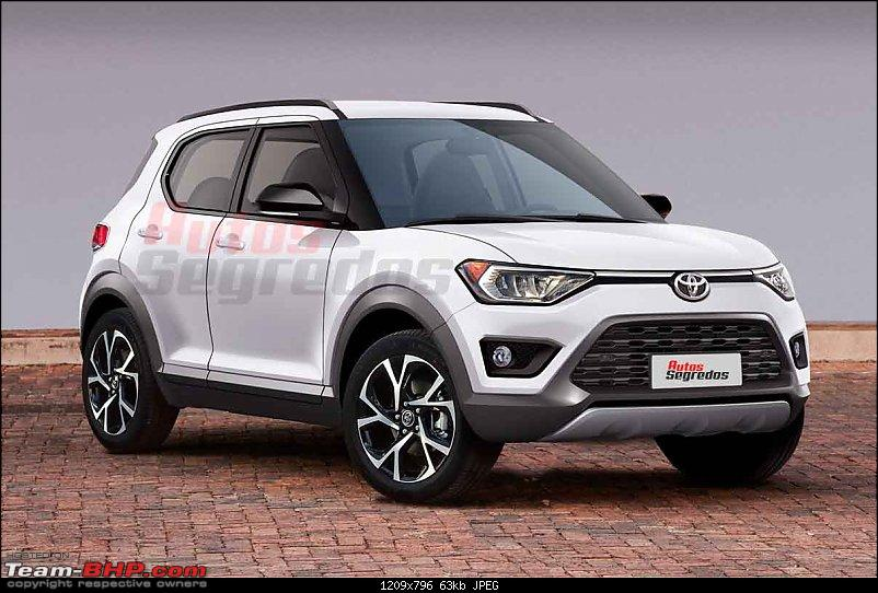 Brazil: Toyota to launch Yaris-based Compact SUV in 2021-1.jpg