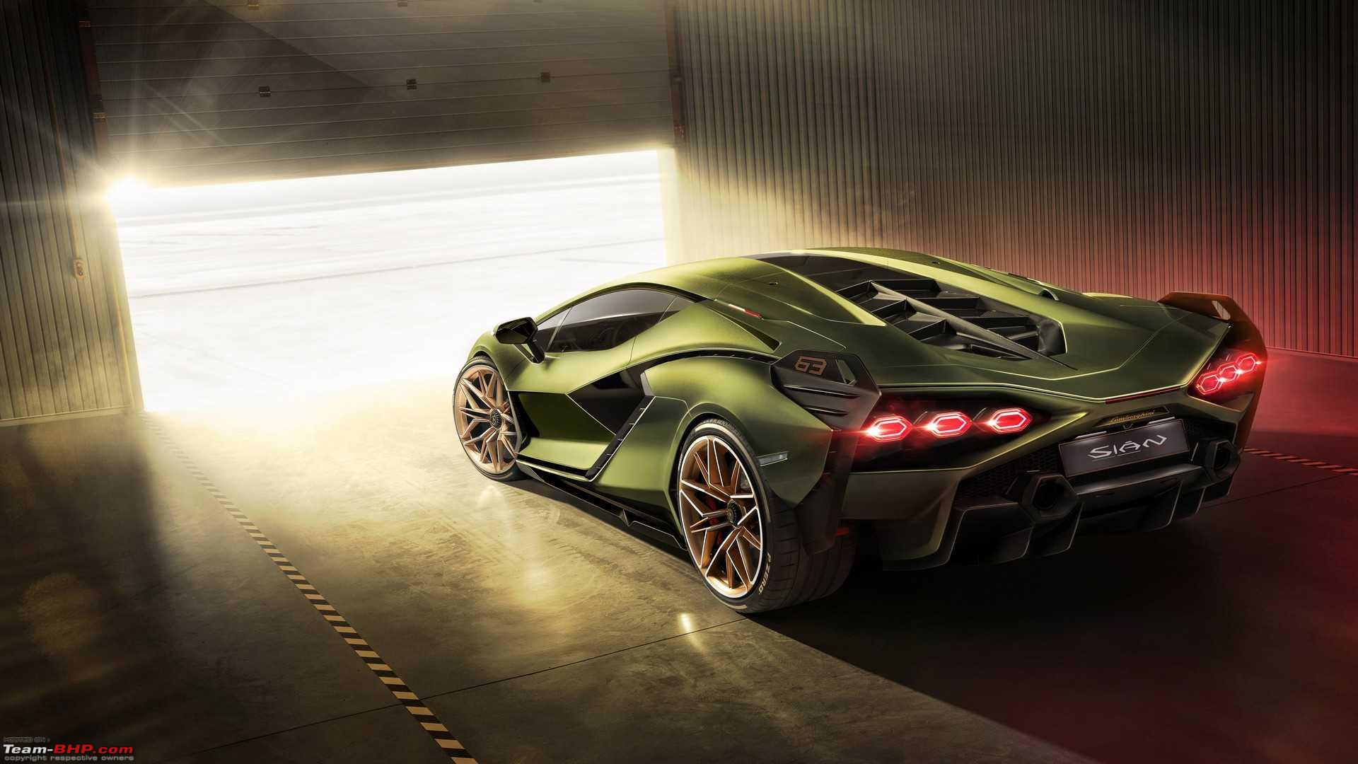 Lamborghini Sian debuts as the brand\u0027s 1st electrified