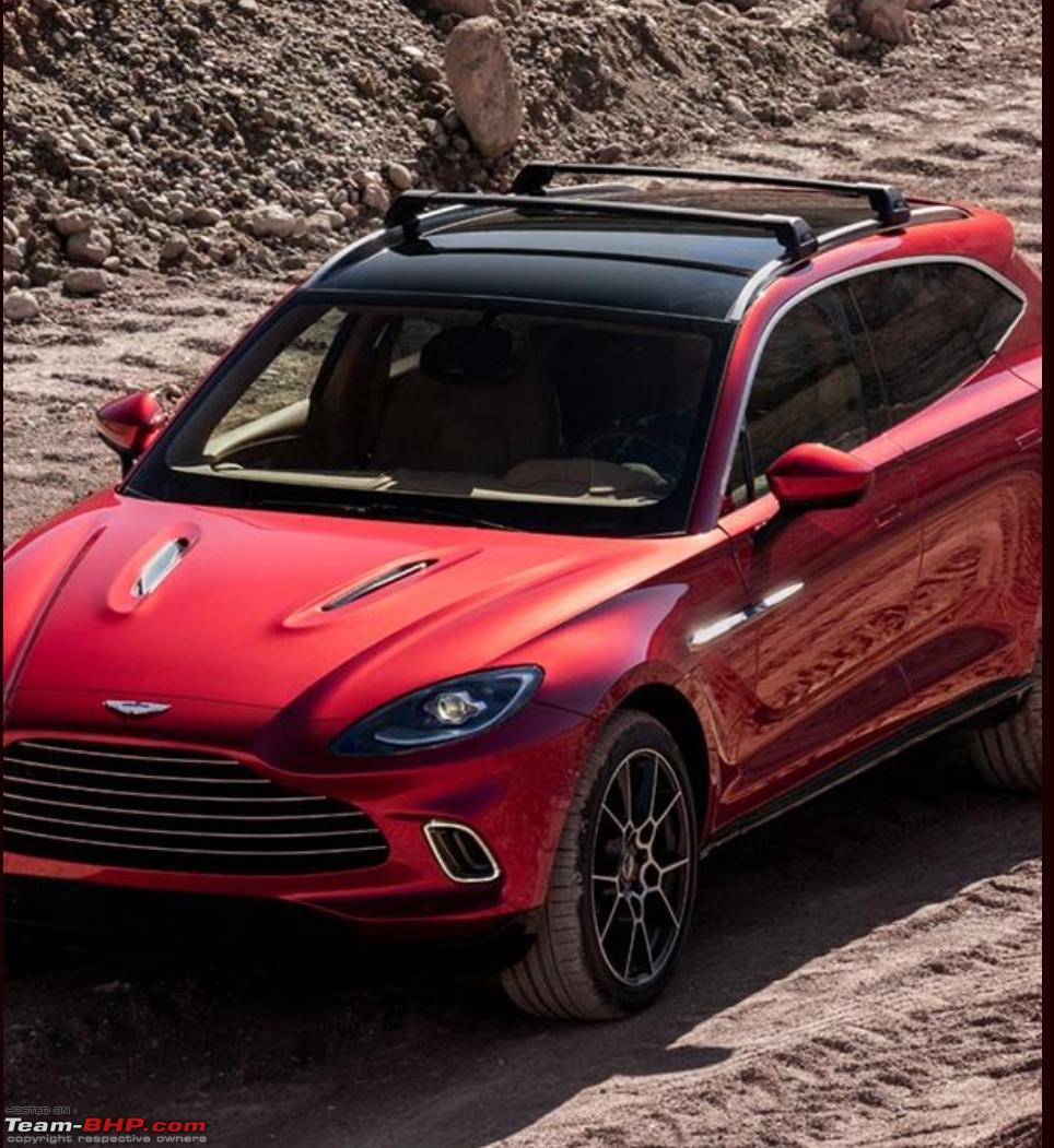 Aston Martin Reveals Its First SUV In 106 Years, The DBX