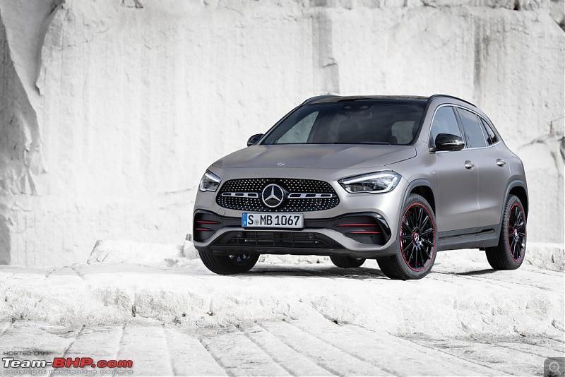 Next-gen Mercedes-Benz GLA unveiled - Team-BHP