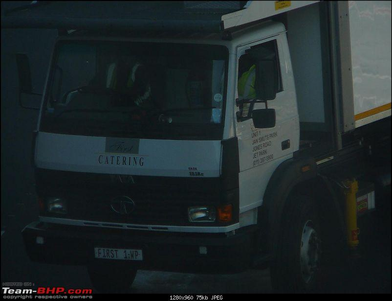 Argentina Automotive Scene - Vehicles familiar to us-tata-truck-jburg-airport.jpg