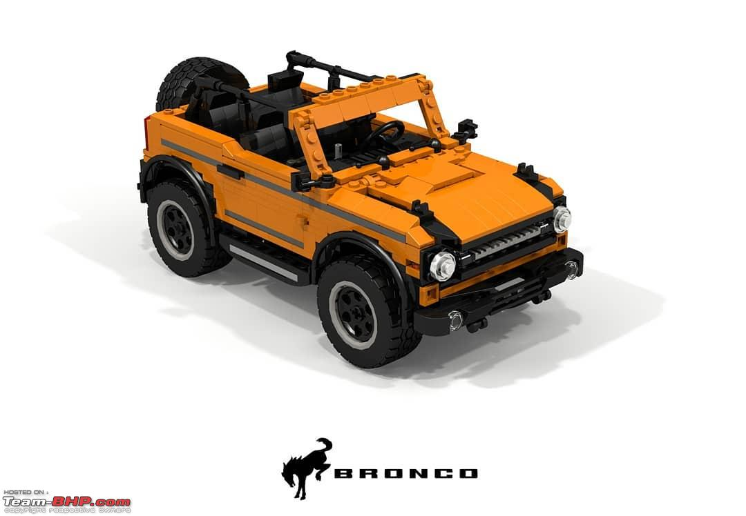 First 2021 Ford Bronco 2-door SUV spied - Page 4 - Team-BHP