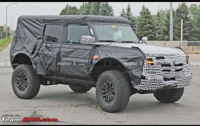 First 2021 Ford Bronco 2-door SUV spied - Page 6 - Team-BHP