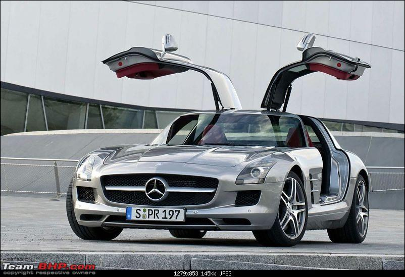 "Mercedes ""baby"" Gullwing to rival Porsche 911?-5409928.jpg"