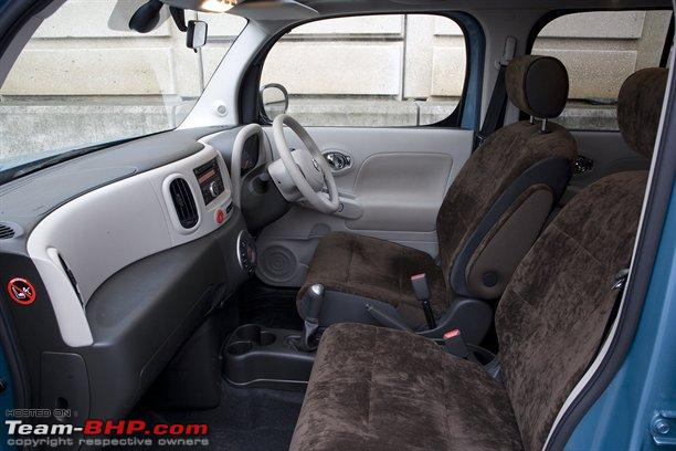 Nissan Cube Interior Pictures. Nissan Cube - launching in UK