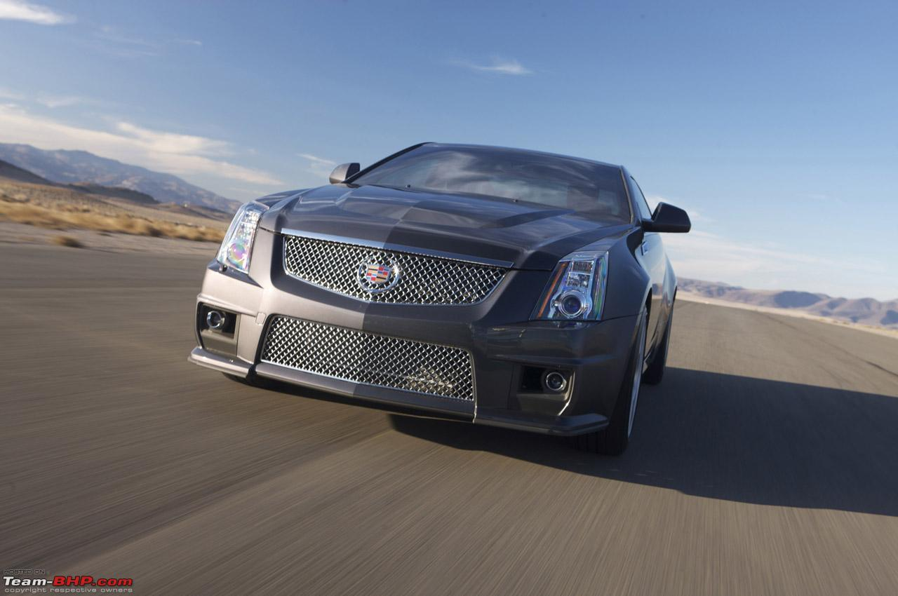 2010 Cadillac Cts Coupe Debuts Team Bhp