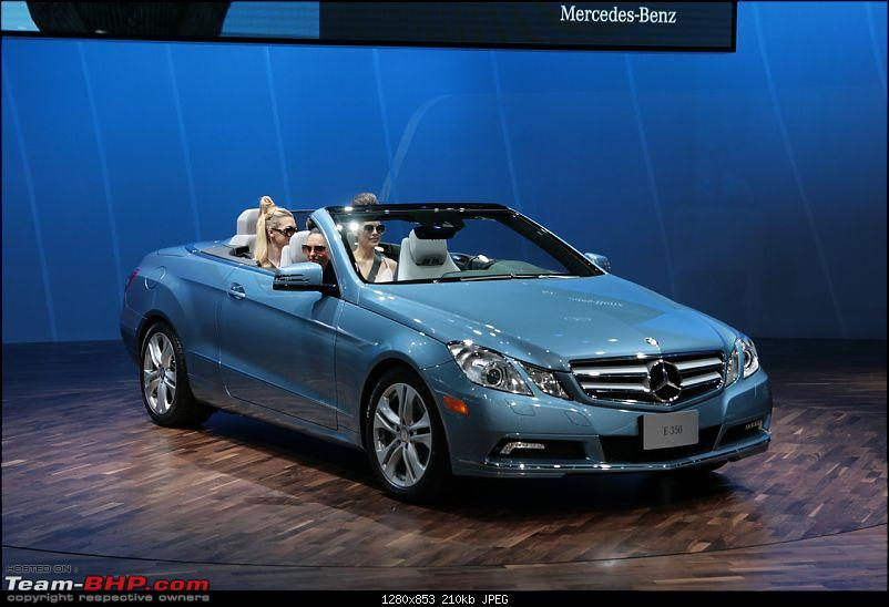 All the action of Detroit Motor Show 2010-eclasscabrio05.jpg