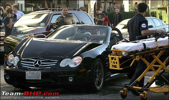 84 celebrity car accidents