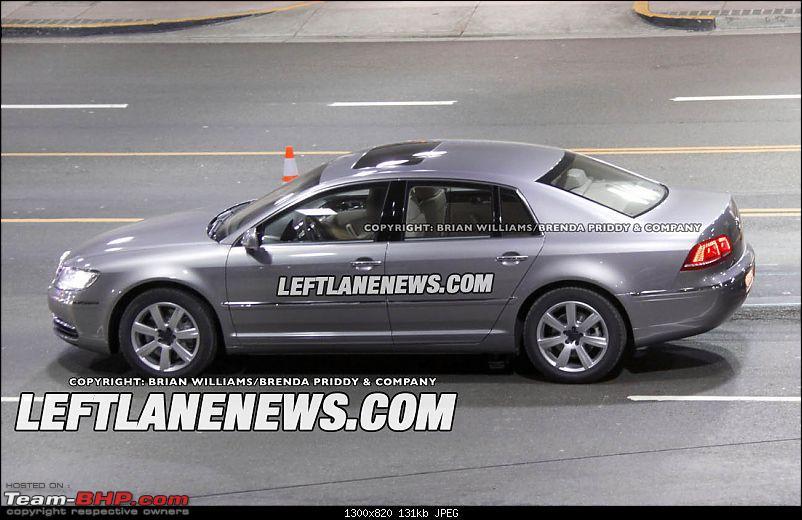 Next VW phaeton refresh caught undisguised-3.jpg