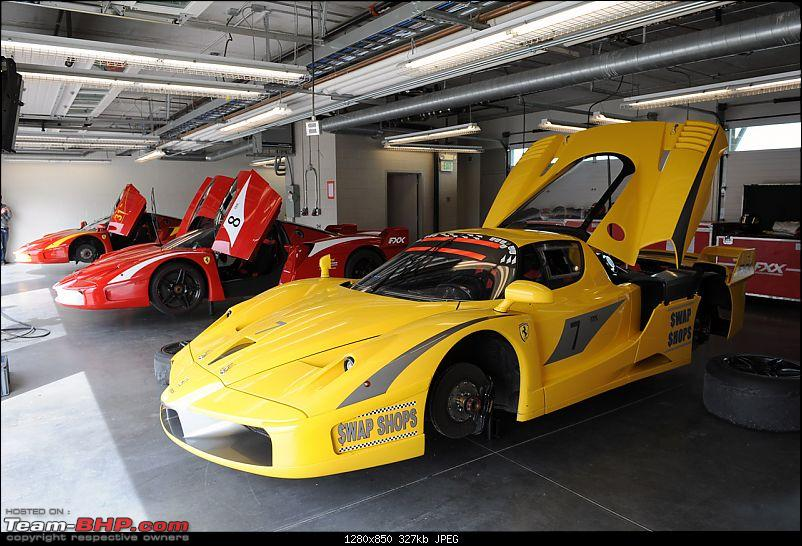 Guess the car in the truck....!! Now revealed. Its the Ferrari FXX-11fxxgaragetourmmp.jpg