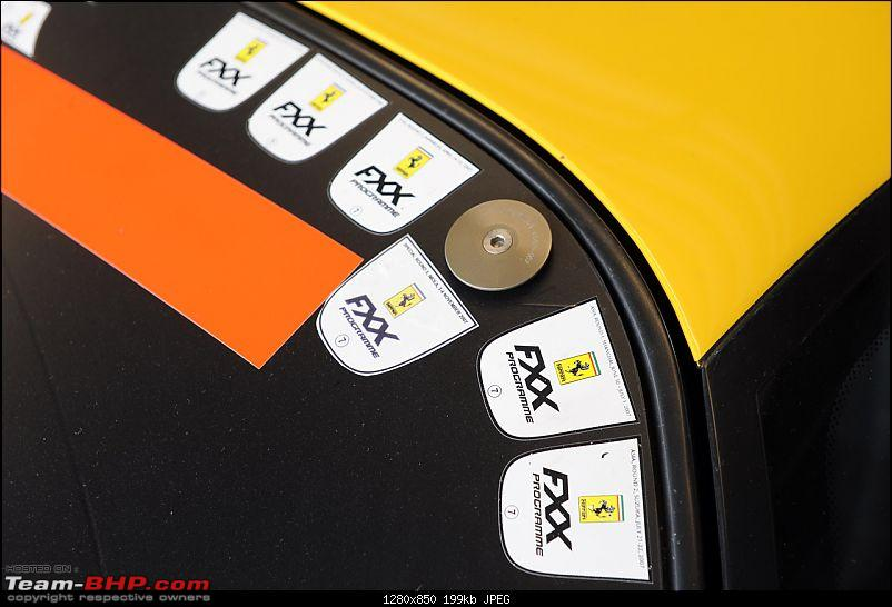 Guess the car in the truck....!! Now revealed. Its the Ferrari FXX-20fxxgaragetourmmp.jpg