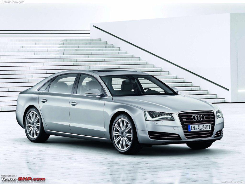 Audi a8 l 6 0 w12 quattro 2004 picture 3 of 5 rear angle image - Audi D4 A8 L And A8 L W12 6 3 Quattro Revealed Audia8_l_2011_1024x768_wallpaper_01 Jpg