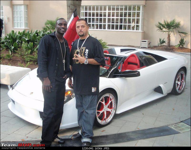 International Celebrities and their Cars!-akonlambo.jpg