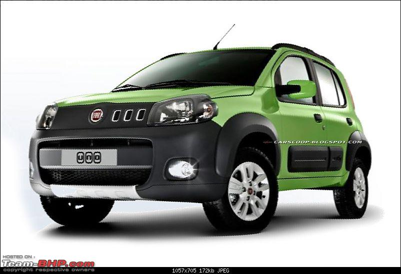 spied: new fiat uno/entry level car at Brazil (Now launched)-2011fiatuno1.jpg