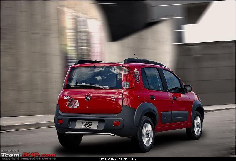 spied: new fiat uno/entry level car at Brazil (Now launched)-2011fiatuno3.jpg