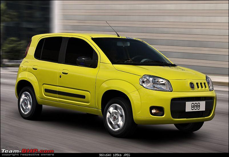 spied: new fiat uno/entry level car at Brazil (Now launched)-2011fiatuno8.jpg