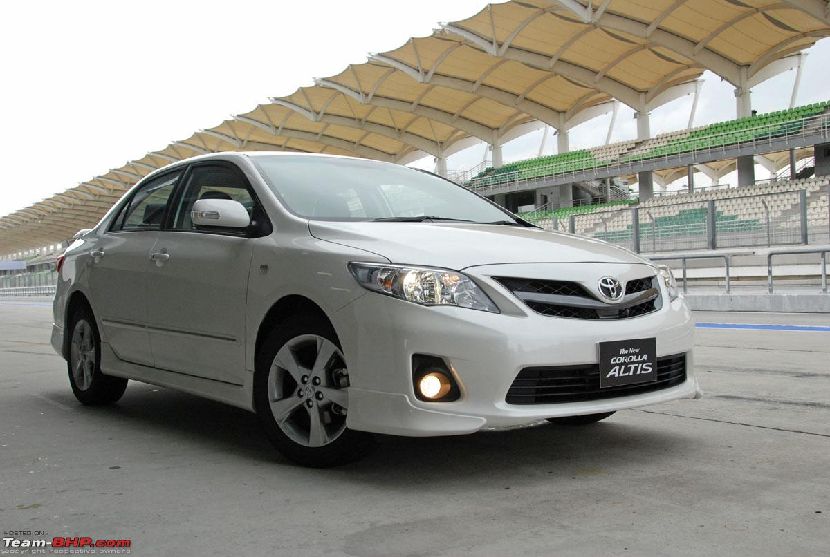 Toyota upgrades the Corolla Altis in Thailand and Malaysia - Team-BHP