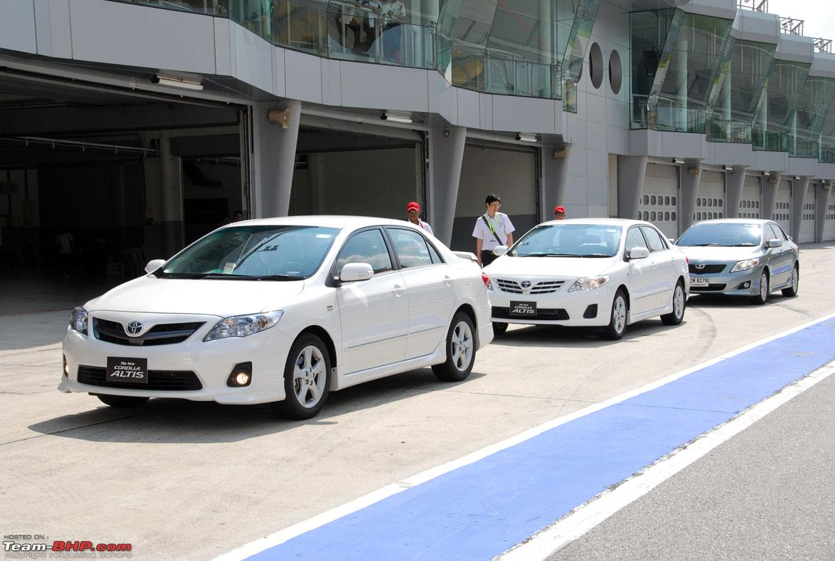 Toyota upgrades the Corolla Altis in Thailand and Malaysia