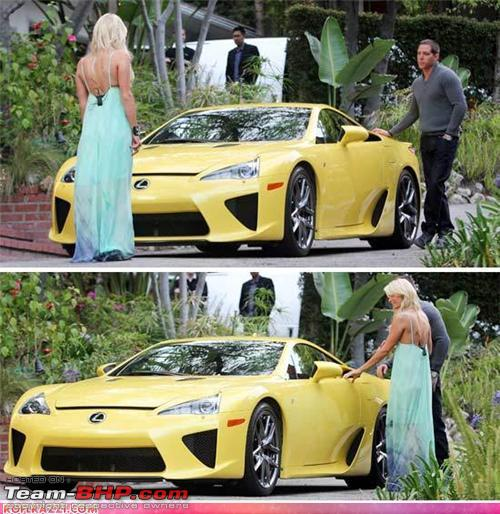 International Celebrities And Their Cars!