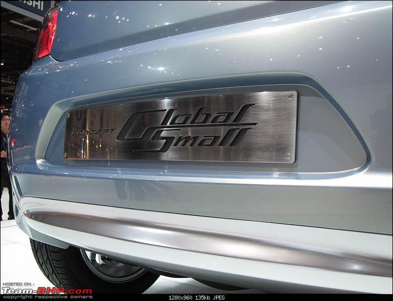 81st International Motor Show - Geneva 2011-10mitsusmallgenevalive.jpg