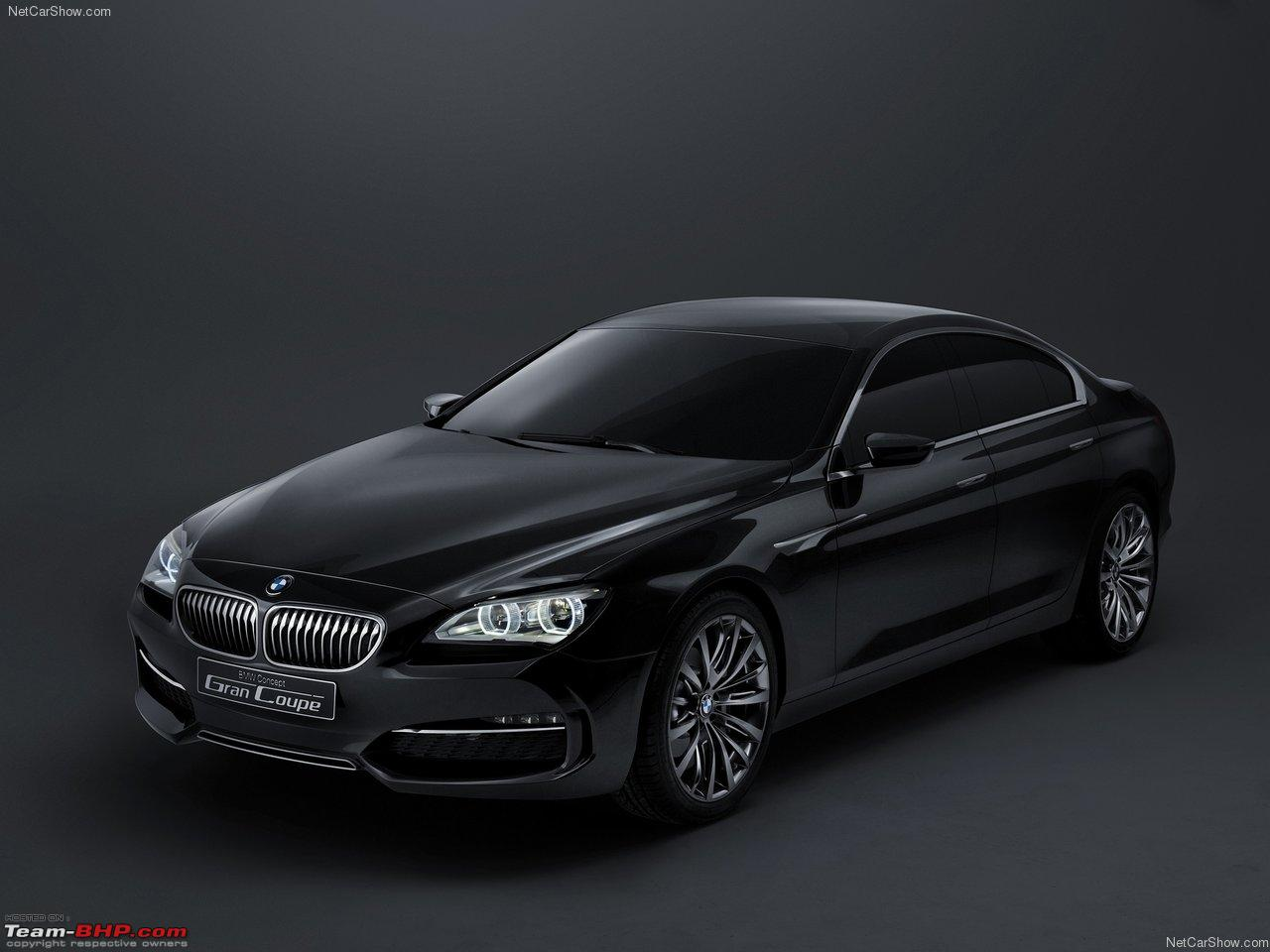 Bmw grancoupe 4 door 6 series edit now officially unveiled team bhp