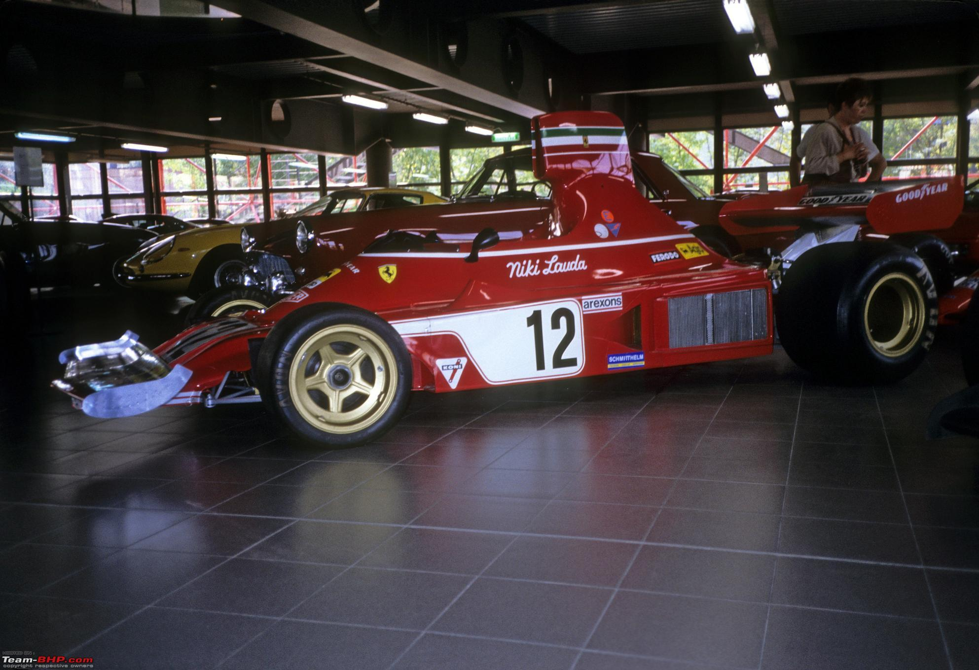 My Ferrari Factory Galleria Visit 1992 Team Bhp