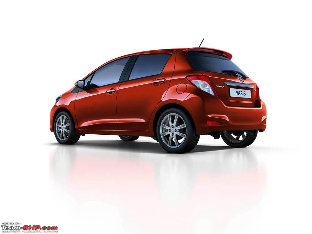 2012 toyota yaris vitz revealed now 2019 version revealed team bhp. Black Bedroom Furniture Sets. Home Design Ideas