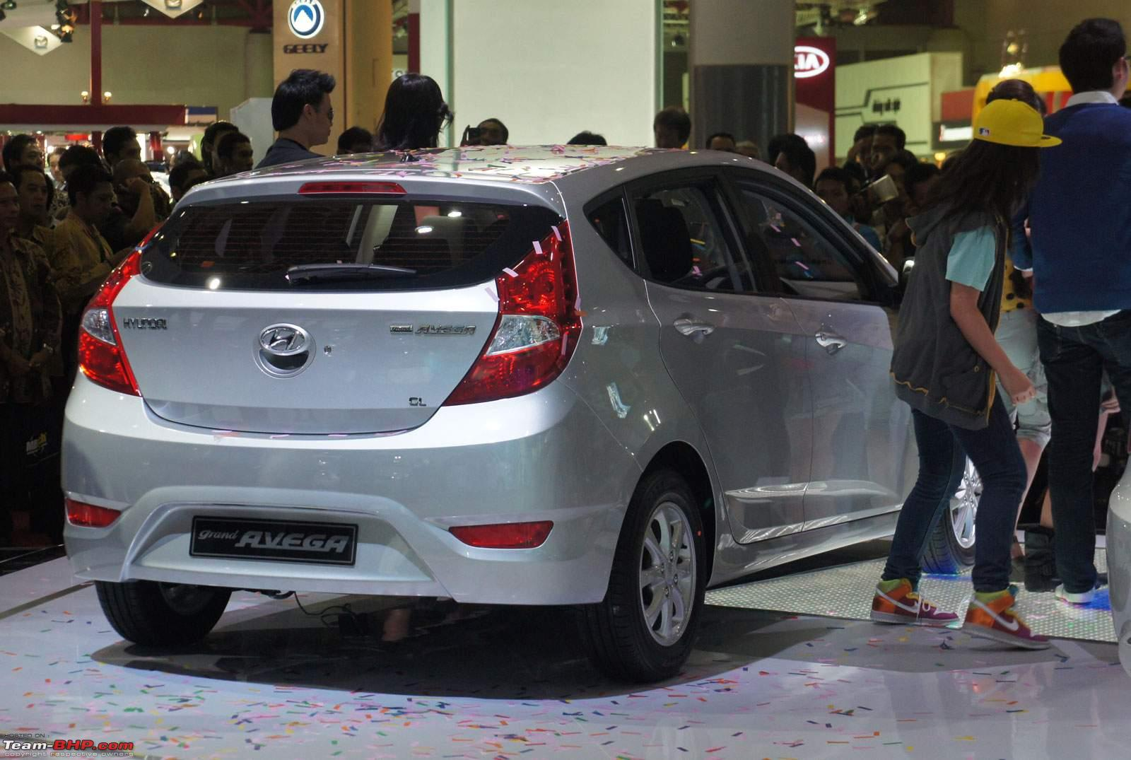 Hyundai Grand Avega Unveiled At Iims 2011 The I20