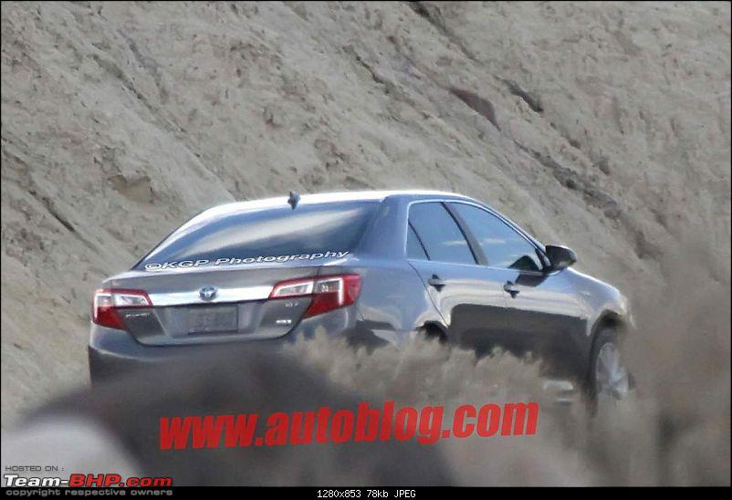 2012 Toyota Camry. EDIT : Totally undisguised pics on Page 2!-12camhybridspy06.jpg